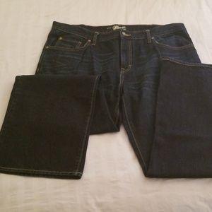 Men's Old Navy loose fit jeans dark blue